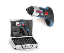 3.6 volt Lithium Cordless Screwdriver with the briefcase