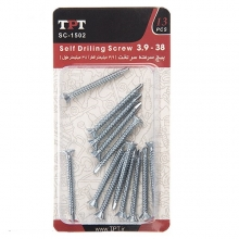 TPT SC-1502 Self Drilling Screw Pack Of 13 PCS