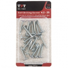 TPT SC-1501 Self Drilling Screw Pack Of 20 PCS